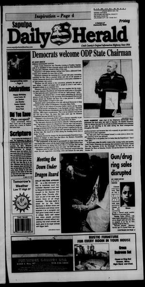 Primary view of Sapulpa Daily Herald (Sapulpa, Okla.), Vol. 100, No. 214, Ed. 1 Friday, July 17, 2015