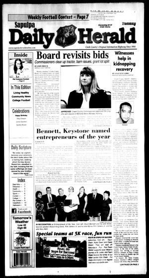 Primary view of Sapulpa Daily Herald (Sapulpa, Okla.), Vol. 97, No. 34, Ed. 1 Tuesday, November 1, 2011