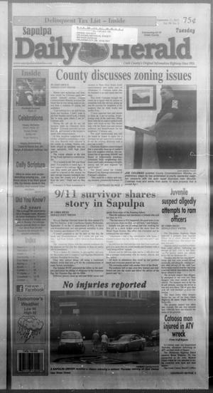 Primary view of Sapulpa Daily Herald (Sapulpa, Okla.), Vol. 99, No. 2, Ed. 1 Tuesday, September 17, 2013