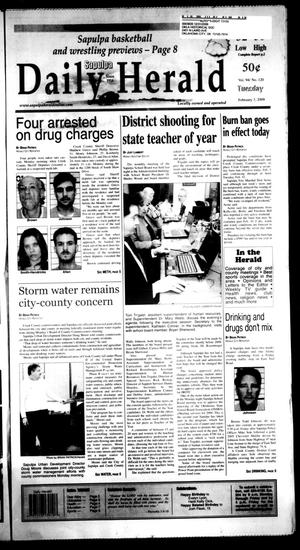 Primary view of Sapulpa Daily Herald (Sapulpa, Okla.), Vol. 94, No. 120, Ed. 1 Tuesday, February 3, 2009
