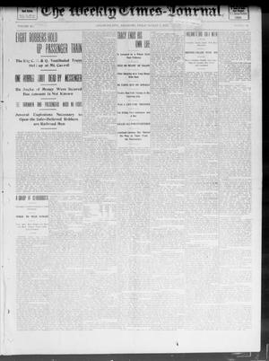 Primary view of object titled 'The Weekly Times-Journal. (Oklahoma City, Okla.), Vol. 14, No. 16, Ed. 1 Friday, August 8, 1902'.
