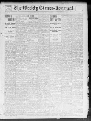 Primary view of object titled 'The Weekly Times-Journal. (Oklahoma City, Okla.), Vol. 14, No. 21, Ed. 1 Friday, September 12, 1902'.