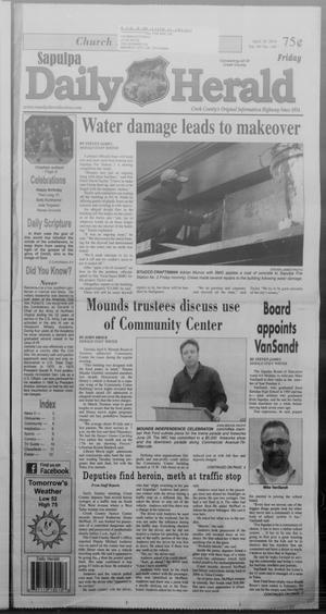 Primary view of Sapulpa Daily Herald (Sapulpa, Okla.), Vol. 99, No. 149, Ed. 1 Friday, April 18, 2014