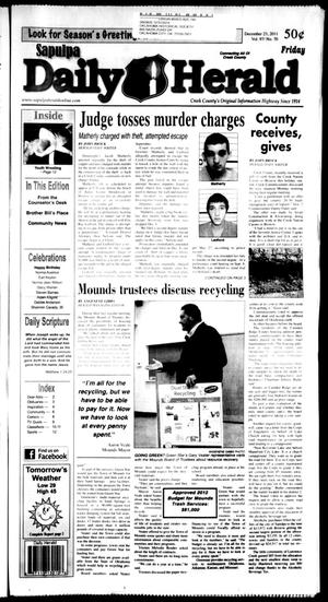 Primary view of Sapulpa Daily Herald (Sapulpa, Okla.), Vol. 97, No. 72, Ed. 1 Friday, December 23, 2011