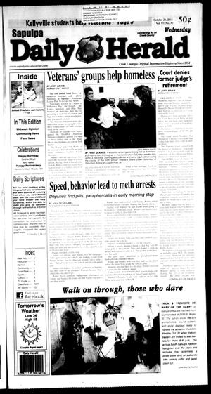 Primary view of Sapulpa Daily Herald (Sapulpa, Okla.), Vol. 97, No. 31, Ed. 1 Wednesday, October 26, 2011