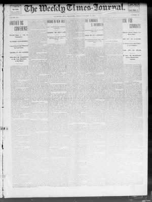 Primary view of object titled 'The Weekly Times-Journal. (Oklahoma City, Okla.), Vol. 14, No. 26, Ed. 1 Friday, October 17, 1902'.
