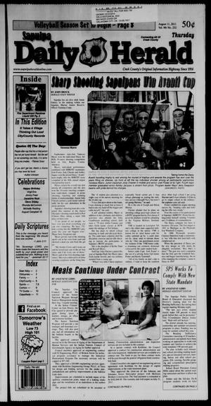 Primary view of Sapulpa Daily Herald (Sapulpa, Okla.), Vol. 96, No. 232, Ed. 1 Thursday, August 11, 2011