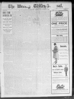 Primary view of object titled 'The Weekly Times-Journal. (Oklahoma City, Okla.), Vol. 14, No. 31, Ed. 1 Friday, November 21, 1902'.