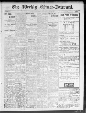 Primary view of object titled 'The Weekly Times-Journal. (Oklahoma City, Okla.), Vol. 14, No. 35, Ed. 1 Friday, December 19, 1902'.