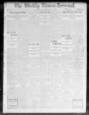 Primary view of object titled 'The Weekly Times-Journal. (Oklahoma City, Okla.), Vol. 14, No. 37, Ed. 1 Friday, January 2, 1903'.