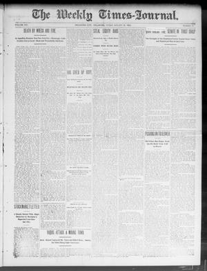 Primary view of object titled 'The Weekly Times-Journal. (Oklahoma City, Okla.), Vol. 14, No. 41, Ed. 1 Friday, January 30, 1903'.