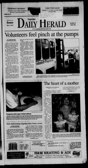 Primary view of Sapulpa Daily Herald (Sapulpa, Okla.), Vol. 92, No. 157, Ed. 1 Sunday, May 13, 2007