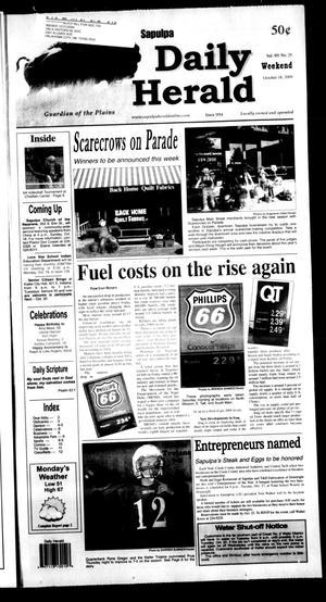 Primary view of Sapulpa Daily Herald (Sapulpa, Okla.), Vol. 95, No. 25, Ed. 1 Sunday, October 18, 2009
