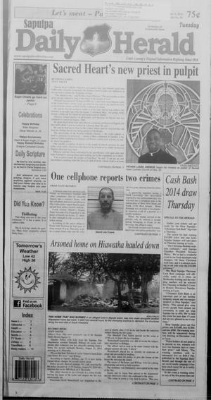 Primary view of Sapulpa Daily Herald (Sapulpa, Okla.), Vol. 100, No. 59, Ed. 1 Tuesday, December 9, 2014
