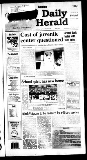 Primary view of Sapulpa Daily Herald (Sapulpa, Okla.), Vol. 95, No. 40, Ed. 1 Sunday, November 8, 2009