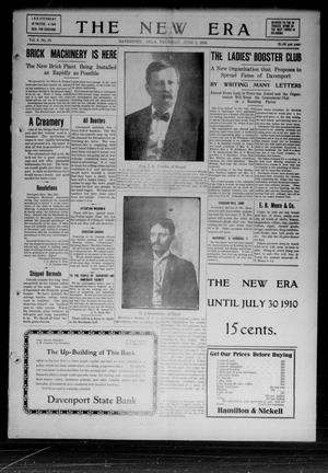 Primary view of object titled 'The New Era (Davenport, Okla.), Vol. 2, No. 19, Ed. 1 Thursday, June 2, 1910'.