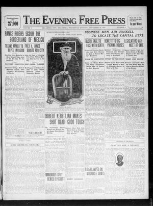 Primary view of object titled 'The Evening Free Press (Oklahoma City, Okla.), Vol. 1, No. 2, Ed. 1 Wednesday, November 16, 1910'.