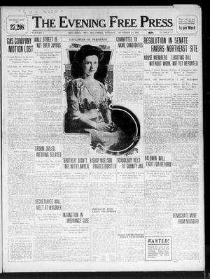 Primary view of object titled 'The Evening Free Press (Oklahoma City, Okla.), Vol. 1, No. 25, Ed. 1 Tuesday, December 13, 1910'.