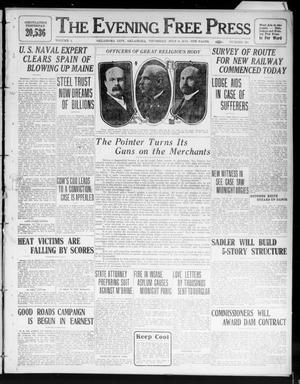 Primary view of The Evening Free Press (Oklahoma City, Okla.), Vol. 1, No. 201, Ed. 1 Thursday, July 6, 1911