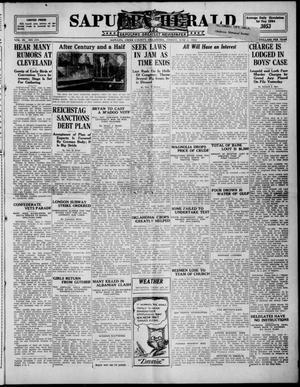 Primary view of Sapulpa Herald (Sapulpa, Okla.), Vol. 9, No. 235, Ed. 1 Friday, June 6, 1924