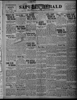 Primary view of object titled 'Sapulpa Herald (Sapulpa, Okla.), Vol. 5, No. 306, Ed. 1 Saturday, August 30, 1919'.