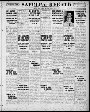 Primary view of Sapulpa Herald (Sapulpa, Okla.), Vol. 3, No. 292, Ed. 1 Tuesday, August 14, 1917