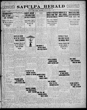 Primary view of Sapulpa Herald (Sapulpa, Okla.), Vol. 4, No. 3, Ed. 1 Wednesday, September 5, 1917