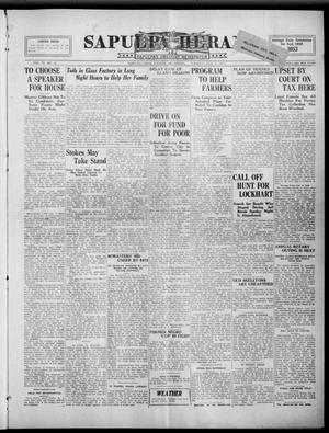 Primary view of Sapulpa Herald (Sapulpa, Okla.), Vol. 9, No. 32, Ed. 1 Tuesday, October 9, 1923