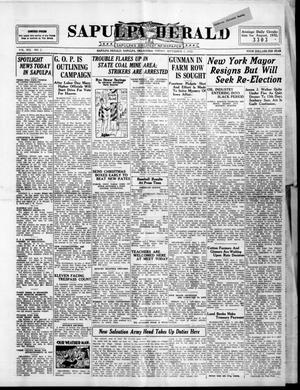 Primary view of Sapulpa Herald (Sapulpa, Okla.), Vol. 19, No. 2, Ed. 1 Friday, September 2, 1932
