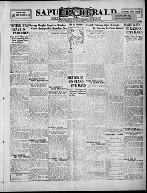 Primary view of Sapulpa Herald (Sapulpa, Okla.), Vol. 13, No. 12, Ed. 1 Wednesday, September 15, 1926