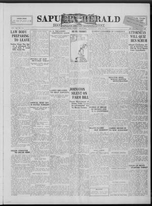 Primary view of Sapulpa Herald (Sapulpa, Okla.), Vol. 13, No. 165, Ed. 1 Wednesday, March 16, 1927