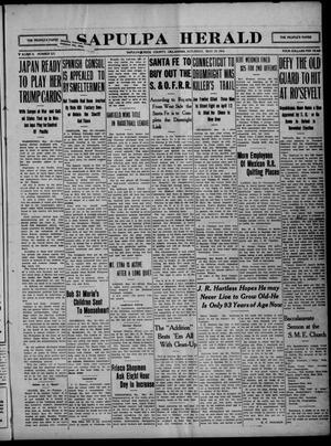 Primary view of Sapulpa Herald (Sapulpa, Okla.), Vol. 2, No. 222, Ed. 1 Saturday, May 20, 1916