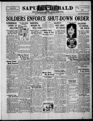 Primary view of Sapulpa Herald (Sapulpa, Okla.), Vol. 17, No. 285, Ed. 1 Wednesday, August 5, 1931