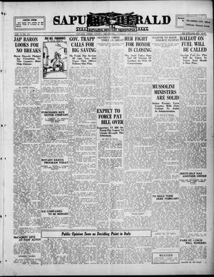 Primary view of Sapulpa Herald (Sapulpa, Okla.), Vol. 10, No. 106, Ed. 1 Tuesday, January 6, 1925