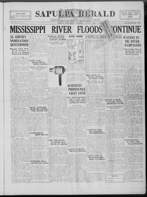 Primary view of Sapulpa Herald (Sapulpa, Okla.), Vol. 13, No. 193, Ed. 1 Monday, April 18, 1927