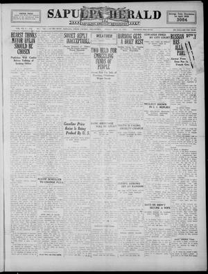 Primary view of Sapulpa Herald (Sapulpa, Okla.), Vol. 8, No. 214, Ed. 1 Friday, May 12, 1922