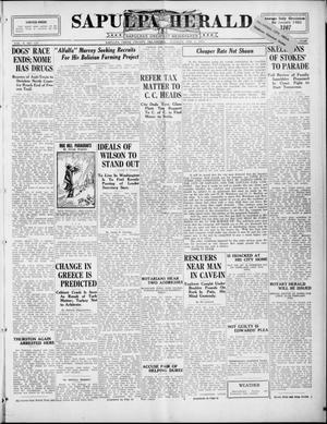 Primary view of Sapulpa Herald (Sapulpa, Okla.), Vol. 10, No. 130, Ed. 1 Tuesday, February 3, 1925