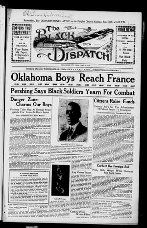Primary view of object titled 'The Black Dispatch (Oklahoma City, Okla.), Vol. 5, No. 22, Ed. 1 Friday, June 28, 1918'.