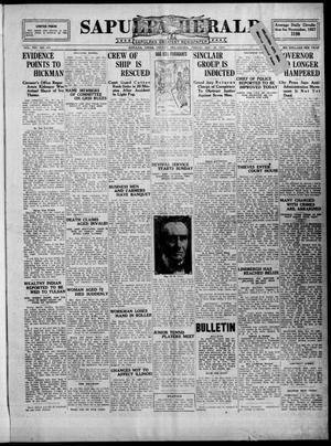 Primary view of Sapulpa Herald (Sapulpa, Okla.), Vol. 14, No. 101, Ed. 1 Friday, December 30, 1927