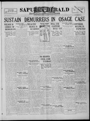 Primary view of Sapulpa Herald (Sapulpa, Okla.), Vol. 11, No. 122, Ed. 1 Monday, January 25, 1926
