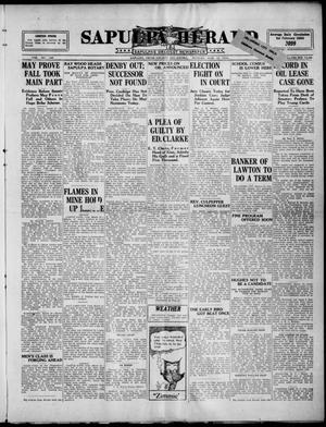 Primary view of Sapulpa Herald (Sapulpa, Okla.), Vol. 9, No. 160, Ed. 1 Monday, March 10, 1924