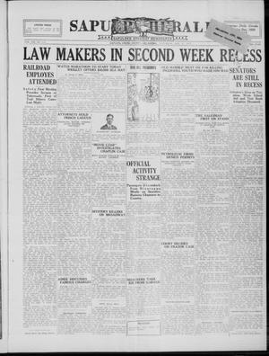 Primary view of Sapulpa Herald (Sapulpa, Okla.), Vol. 13, No. 114, Ed. 1 Saturday, January 15, 1927