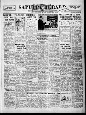 Primary view of Sapulpa Herald (Sapulpa, Okla.), Vol. 15, No. 175, Ed. 1 Thursday, March 28, 1929