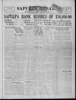 Primary view of Sapulpa Herald (Sapulpa, Okla.), Vol. 13, No. 109, Ed. 1 Monday, January 10, 1927