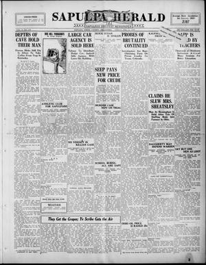 Primary view of Sapulpa Herald (Sapulpa, Okla.), Vol. 10, No. 139, Ed. 1 Friday, February 13, 1925