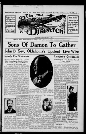 Primary view of object titled 'The Black Dispatch (Oklahoma City, Okla.), Vol. 5, No. 24, Ed. 1 Friday, July 11, 1919'.