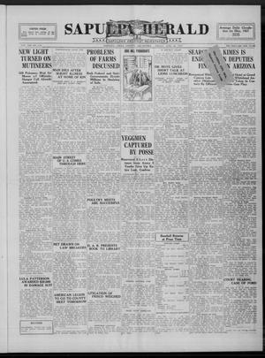Primary view of Sapulpa Herald (Sapulpa, Okla.), Vol. 13, No. 250, Ed. 1 Friday, June 24, 1927