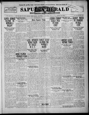 Primary view of Sapulpa Herald (Sapulpa, Okla.), Vol. 8, No. 41, Ed. 1 Thursday, October 19, 1922