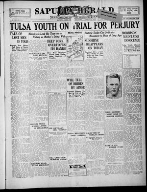 Primary view of Sapulpa Herald (Sapulpa, Okla.), Vol. 13, No. 25, Ed. 1 Thursday, September 30, 1926