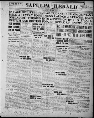 Primary view of Sapulpa Herald (Sapulpa, Okla.), Vol. 4, No. 234, Ed. 1 Friday, June 7, 1918